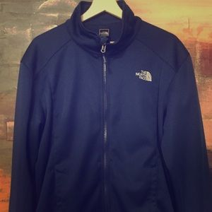 North Face Neoprene Navy Lightweight jacket